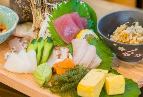 魚介刺身の皿鉢盛