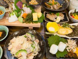 奄美大島料理かめコース一覧