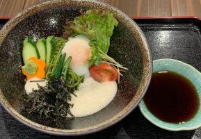 奄美ランチ茶そばサラダ