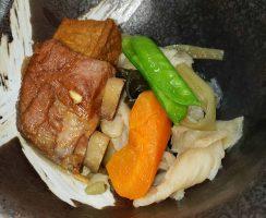 豚骨と島野菜煮